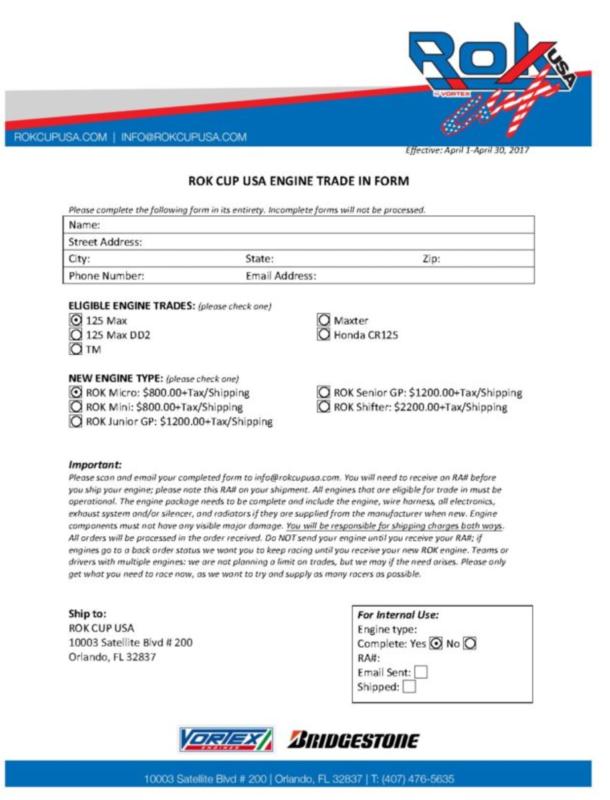 Forms & Docs | Oakland Valley Race Park
